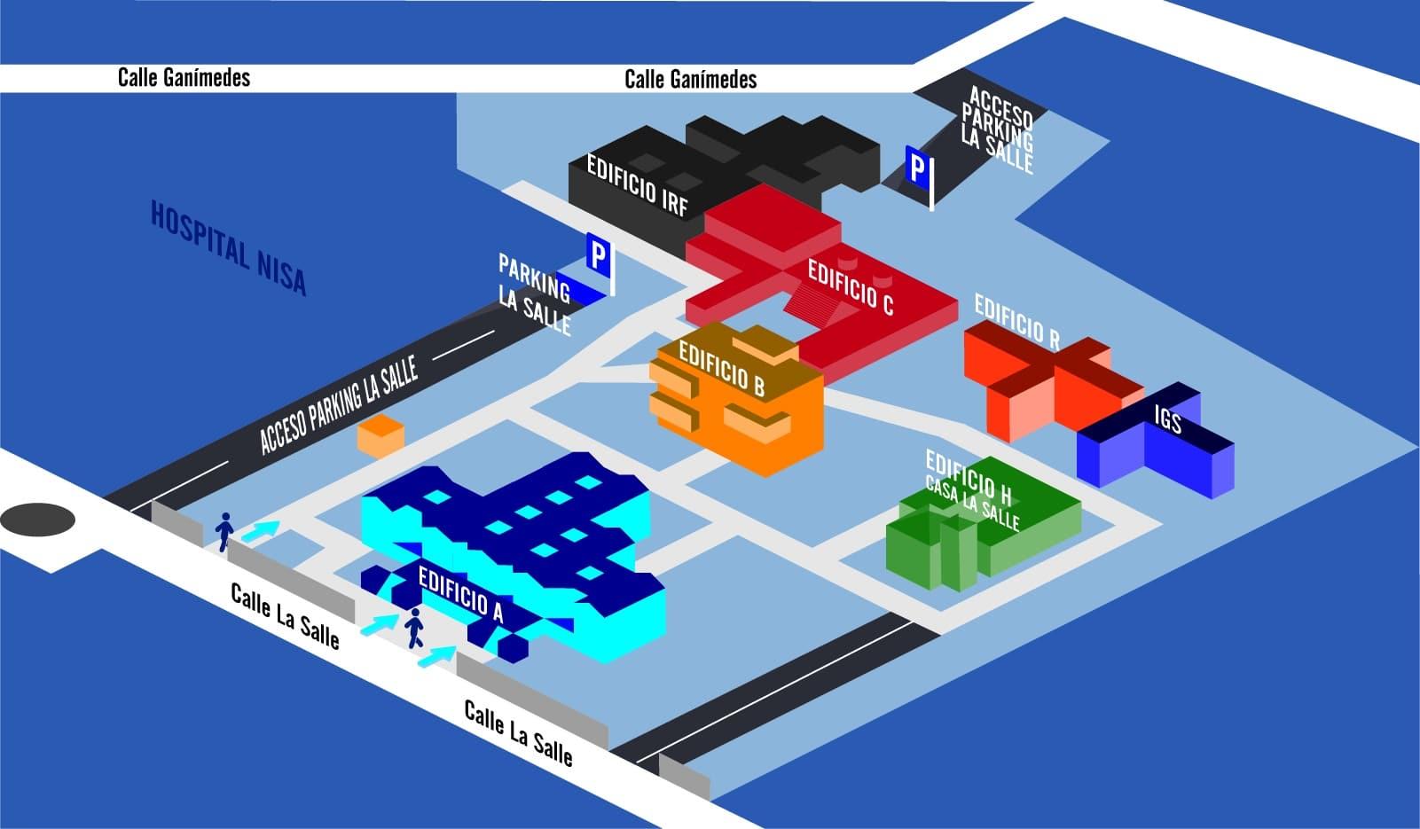 Edificios La Salle Campus